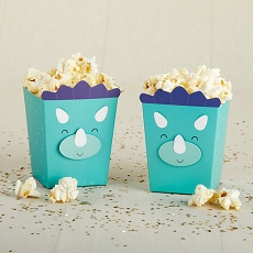 Dinosaur Popcorn Favor Box (Set of 12)