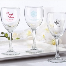 Personalized Wine Glass 8.5 oz