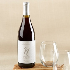 Personalized Wine Bottle Labels - Ethereal