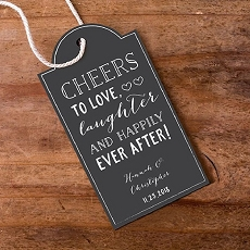 Personalized Statement Tags - Chalk (Set of 12)