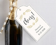 Personalized Statement Tags - Classic (Set of 12)
