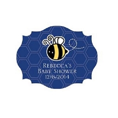 Quatrefoil Sticker Baby-Kate Aspen