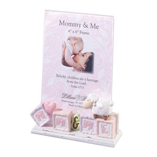 Little Lamb Mom Me 4 X 6 Framelillian Rose