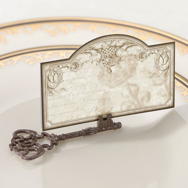 St/4 Key Place card Holder