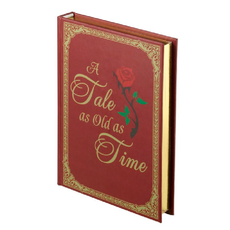 Lillian Rose Fairy Tale Storybook Ring Holder Red/Gold