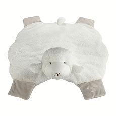 Lillian Rose Plush Baby Lamb Floor Mat Toy