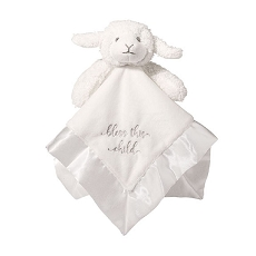 Lillian Rose Baby Lamb Mini Security Blanket