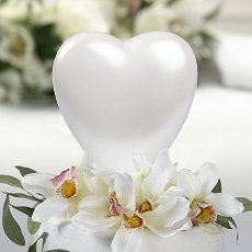 Lillian Rose Heart Cake Topper