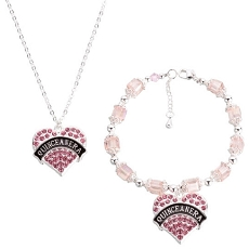 Lillian Rose Quinceanera Bracelet and Necklace Set