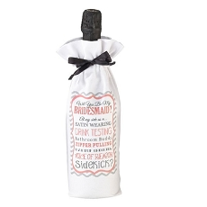 Lillian Rose Will You Be My Bridesmaid/Sidekick Wine Bag