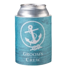 Lillian Rose Coastal Groom's Crew Can Cozy