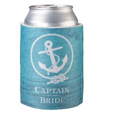 Lillian Rose Coastal Captain Bride Can Cozy