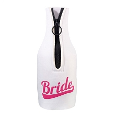 Lillian Rose Bride Bottle Cozy