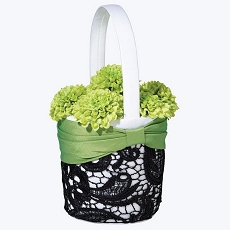 Green & Black Basket