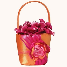 Hot Pink/Orange Basket