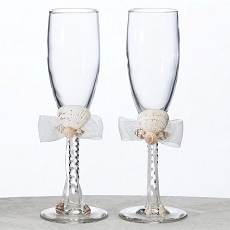 Seaside Ivory Toasting Glass