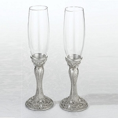 Set of 2 Regal Elegance Glasses