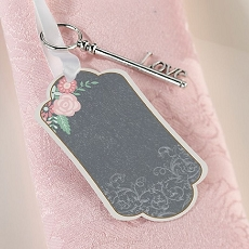 Lillian Rose 24 Vintage Chalkboard Guest Signing Tags