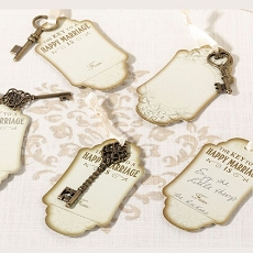 Lillian Rose 24 Vintage Bronze Key Tags