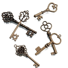 Lillian Rose 24 Vintage Bronze Keys