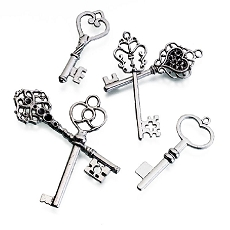 Lillian Rose 24 Vintage Silver Keys