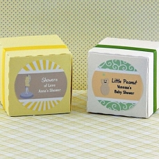 Personalized Baby Shower Round Favor Labels (Set of 20)