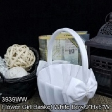 Brilliant Basket Flower Girl Basket