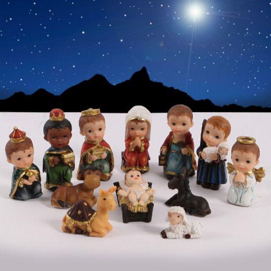 buy online 95cba d1a44 Holy Night Children's Nativity Set (12 Piece)