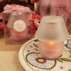 Perfect Shade Pink Candle Lamp