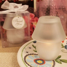 Perfect Shade White Candle Lamp