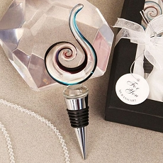 Swirl Design Arte Murano Bottle Stopper