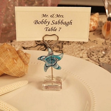 Star Arte Murano Photo/Place Card Holder