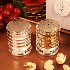 Accents Of Love Salt/Pepper Shaker Set