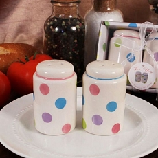 Lots Of Dots Salt & Pepper Shakers