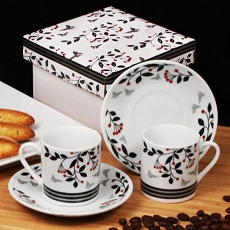 Very Cherry Espresso Set