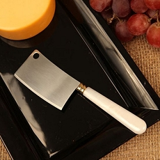 Pearl Cheese Knife Wedge