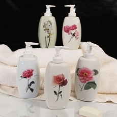 Floral Flair Lotion/Soap Dispenser (Assorted)