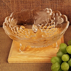 Eden's Gift Crystal Fruit and Candy Bowl