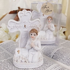 Communion Day Figurine Boy