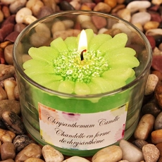 Chrysanthemums Shaped Scented Candle (6 colors)