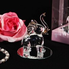 Aspects of Nature Crystal Elephant Figurine