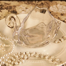 Crystal Swan Swan Shaped Trinket