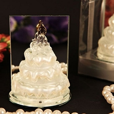 Murano Arte Murano Glass Wedding Cake Figurine