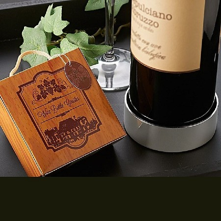 Vineyard Estate Wine Bottle Coaster