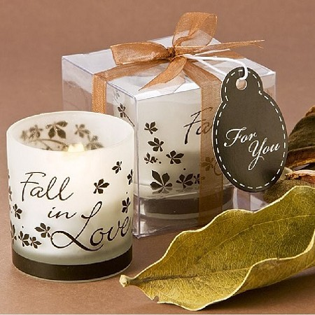 Fall in Love Tea Light Candle Holder (Pack of 4)
