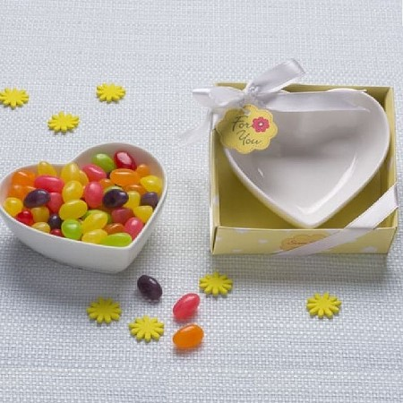 Sweet Treats Heart Shaped Candy Bowl/Trinket Dish
