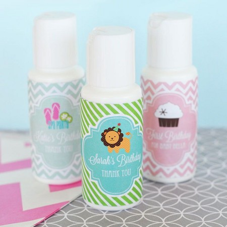 Personalized MOD Kid's Birthday Sunscreen