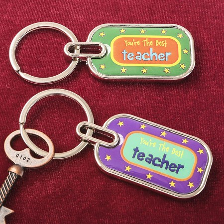 You'Re The Best Teacher Key Chain - Fashioncraft
