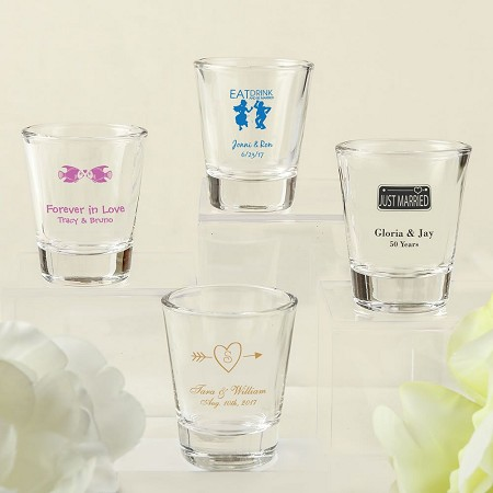 Screen Printed Shot Glass From Fashioncraft