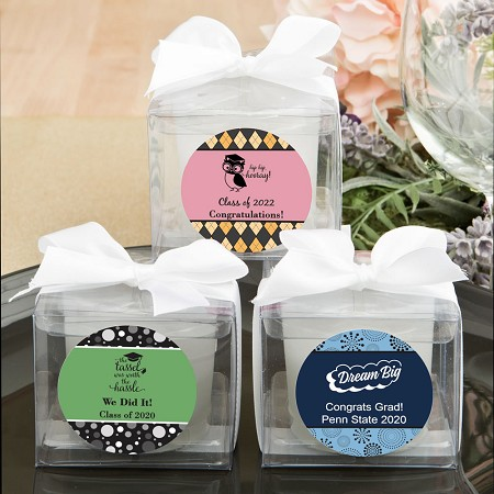 Personalized Graduation Collection Candle Favors